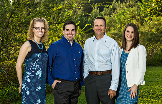 Meet Friendswood and Pearland sedation Dentists Montz, Maher, Dunwody, and Varesic.